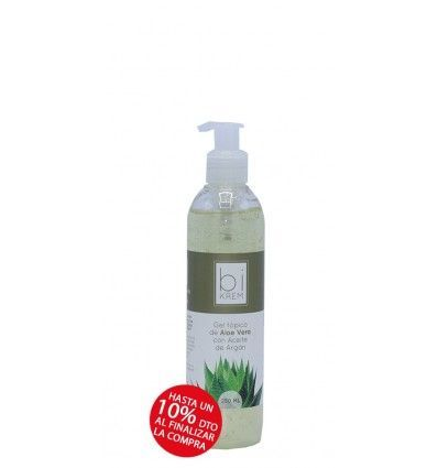 GEL TOPICO ALOE + ARGAN 250ml