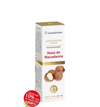 ACEITE VEGETAL DE MACADAMIA 100 ML INTERSA