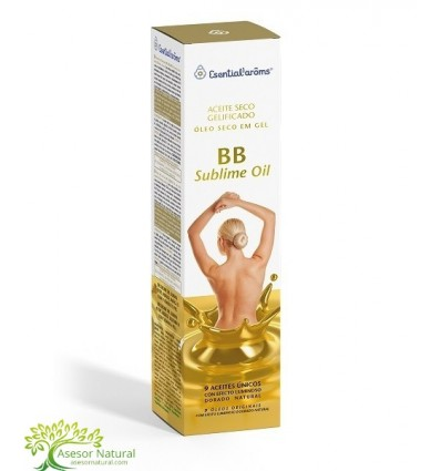 ACEITE SECO GELIFICADO BB SUBLIME OIL 100 ML ESENTIAL AROMS